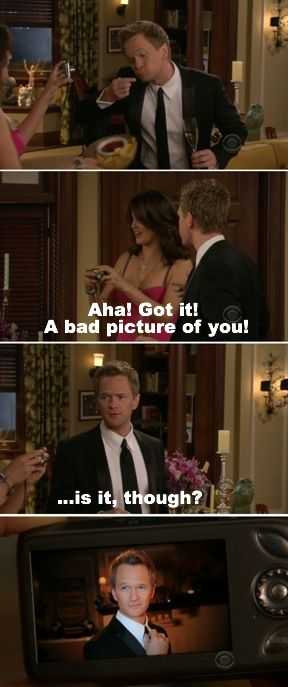When There Were No Bad Pictures Of Barney Ever  Barney Stinson Resume
