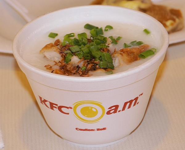 Chicken Porridge KFC Singapore