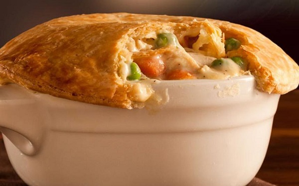 Chicken pot pie KFC USA