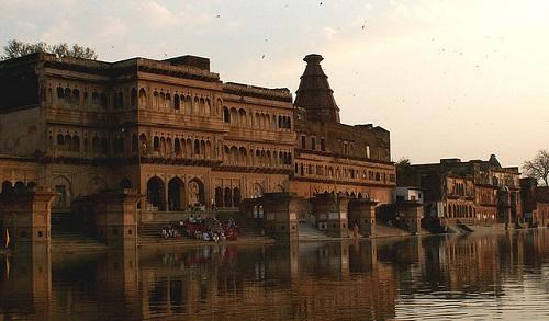 Delhi and Vrindava