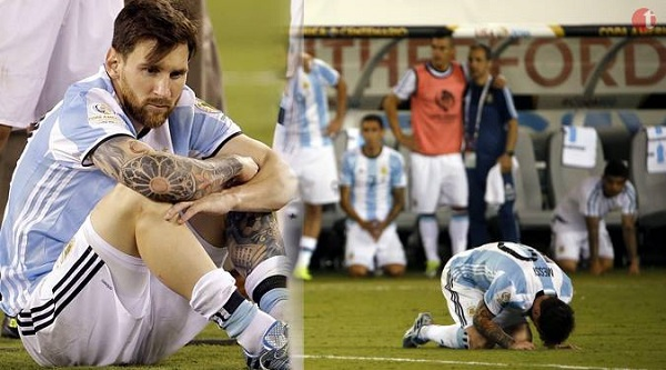 Lionel Messi the football legend