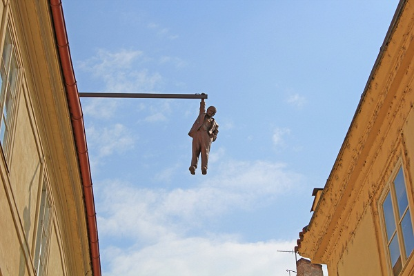 Man Hanging Out