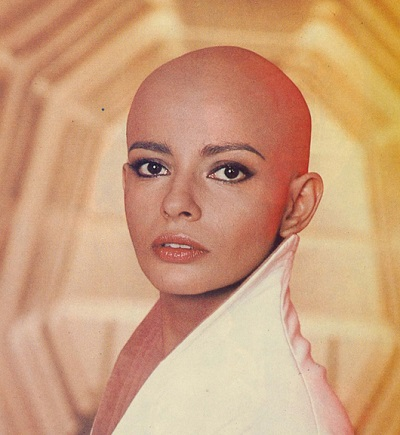 Persis Khambatta bald head