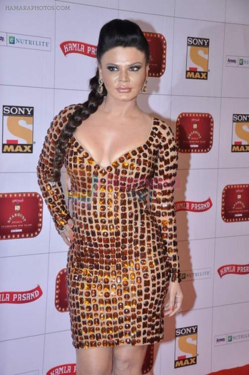 Rakhi Sawant at Stardust Awards