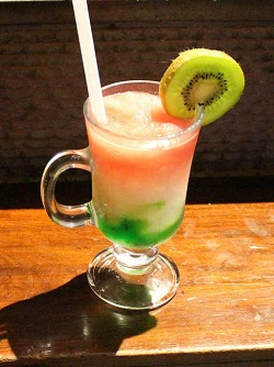Tri Color Mocktail