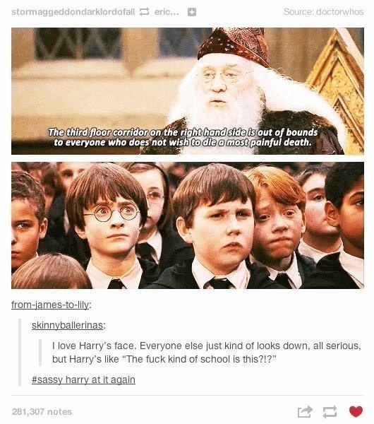 When Harry was more like us than the rest of the little wizards