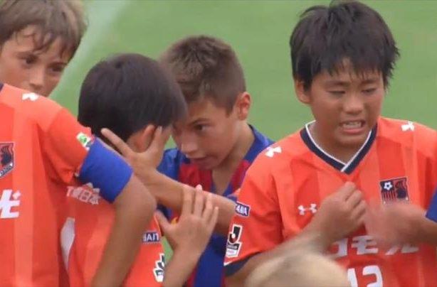 barcelona under10 football team