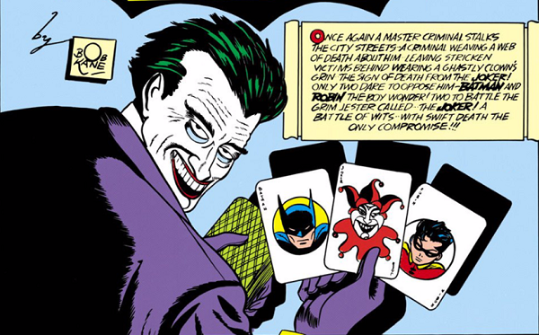 Joker in The Man Who Laughs