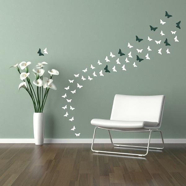 Billowing butterflies