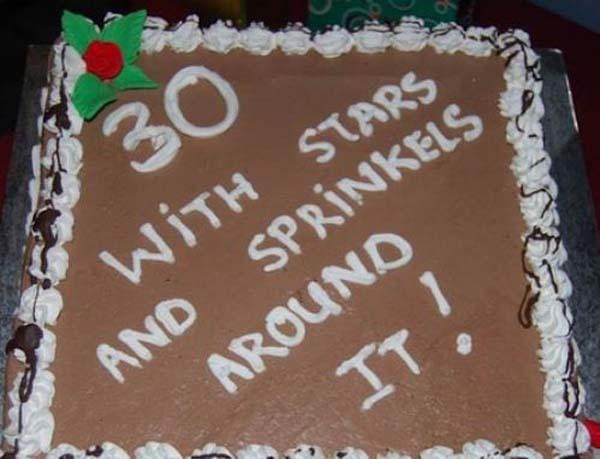Cake failures