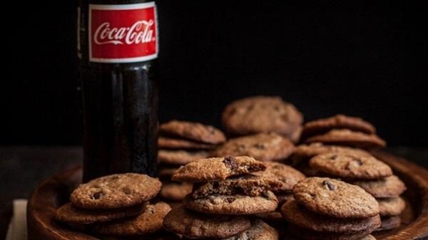 Coca- cola chocolate chip cookies