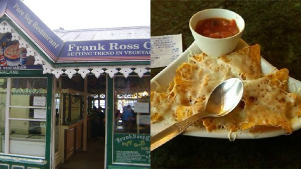 Frank Ross Café in Darjeeling