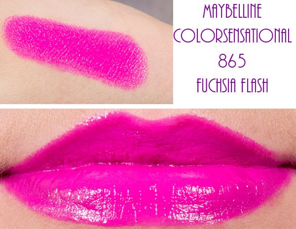 fuchsia flash maybelline lipstick