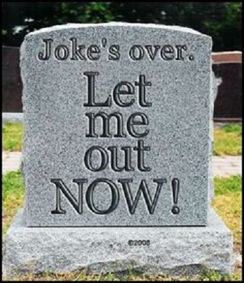 Funny quotes on gravestone