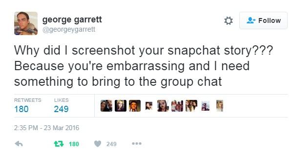 George Garrett Twitter