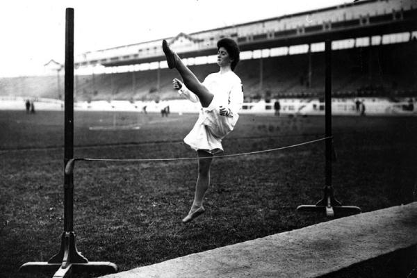 Gymnast in Olympics
