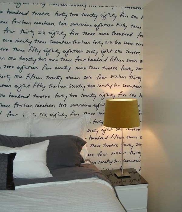 Handwritten wall