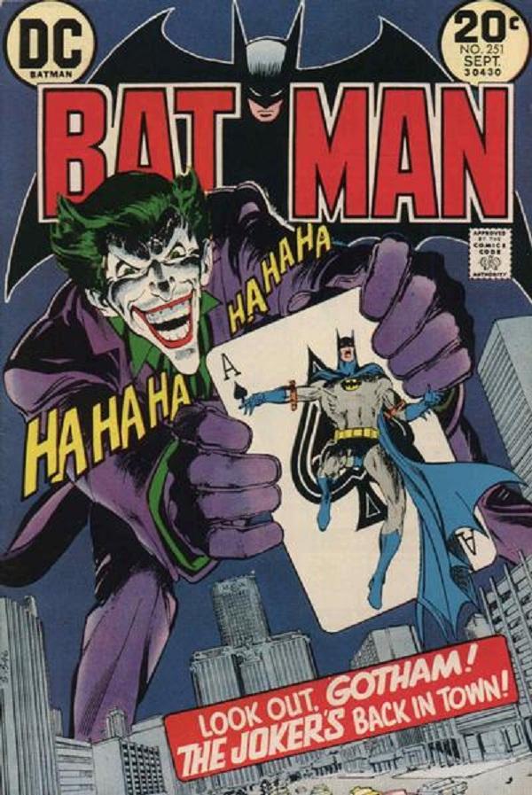Joker to the Batman comics