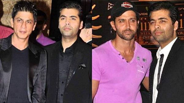 Karan Johar with Shahrukh Khan