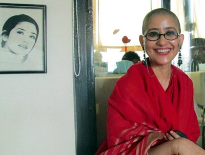 manisha koirala bald