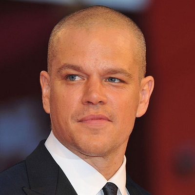 matt damon shaved head