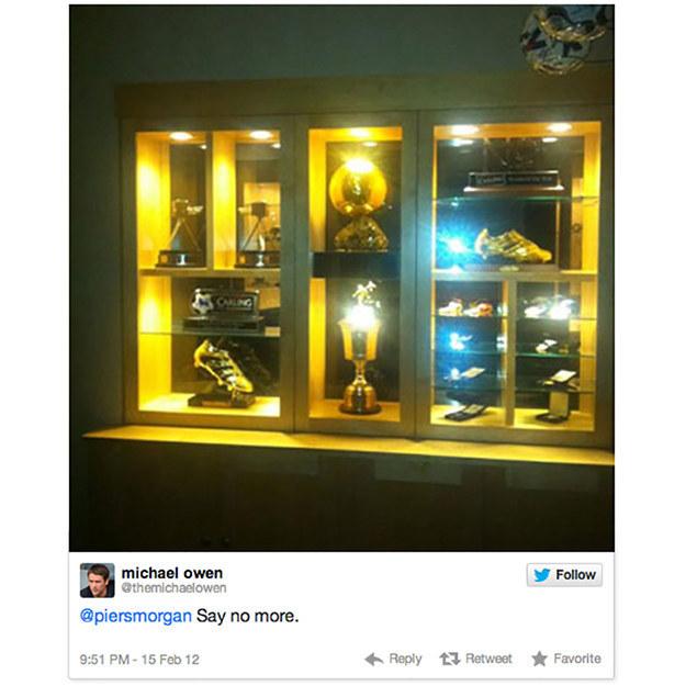 Michael Owen twitter