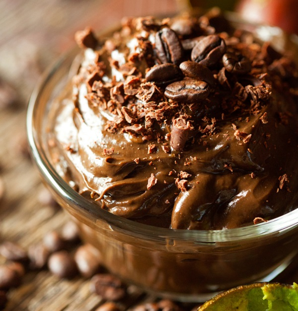 Mocha Avocado Mousse