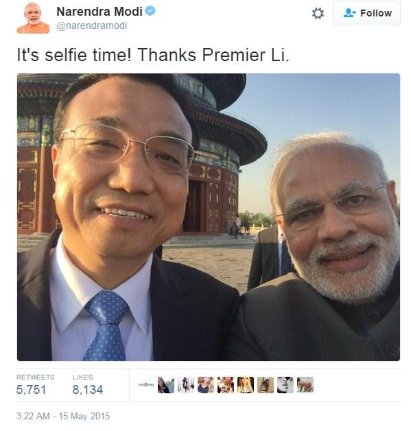 Modi with Li Keqiang