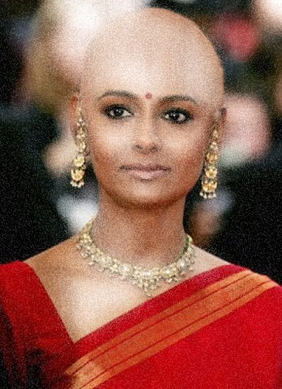 14 celebrities that sported the bald look and looked fabulous