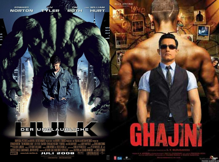 Bollywood movies posters copies from hollywood movies