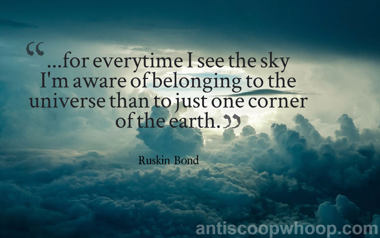 Bond Quotes Most Heartwarming Quotesruskin Bond