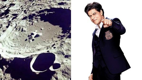 Shah Rukh Khan- A lunar crater