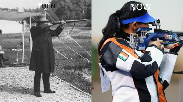 Shooting in Olympics