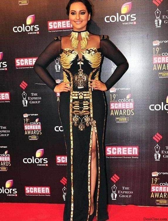 Sonakshi Sinha fashion disaster