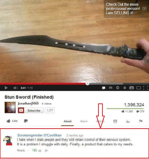 Stun Sword Youtube