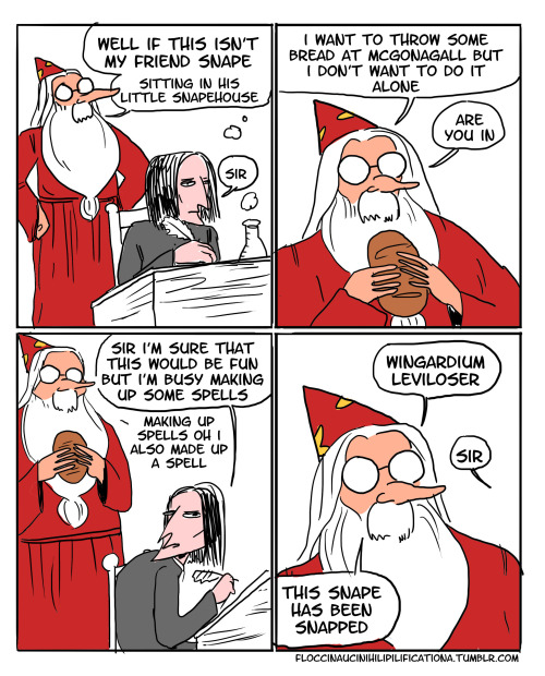 Too sassy for Snape