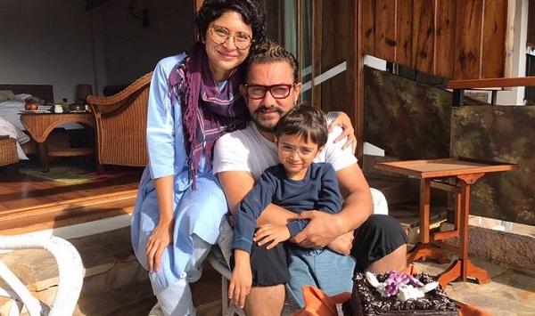 Aamir Khan Azad Rao Khan Kiran Rao