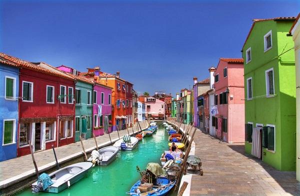 Burano Venetian Lagoon Italy