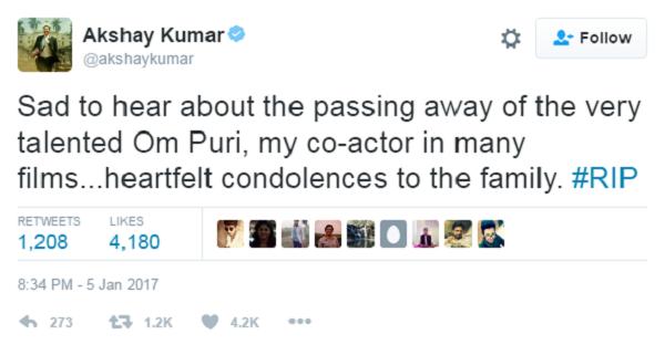 akshay tweet om puri