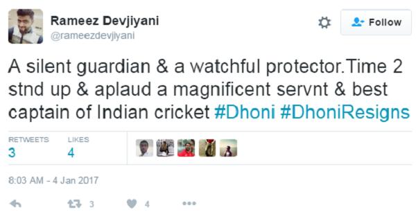 dhoni captain 6