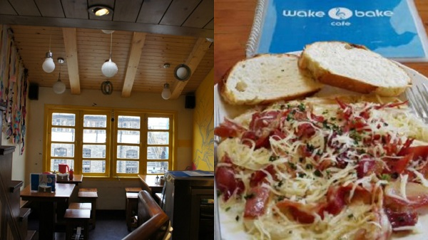 Wake and Bake Café in Shimla