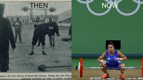 Weightlifing in Olympics